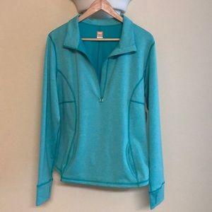 Lucy Half Zip Athletic Jacket - XL
